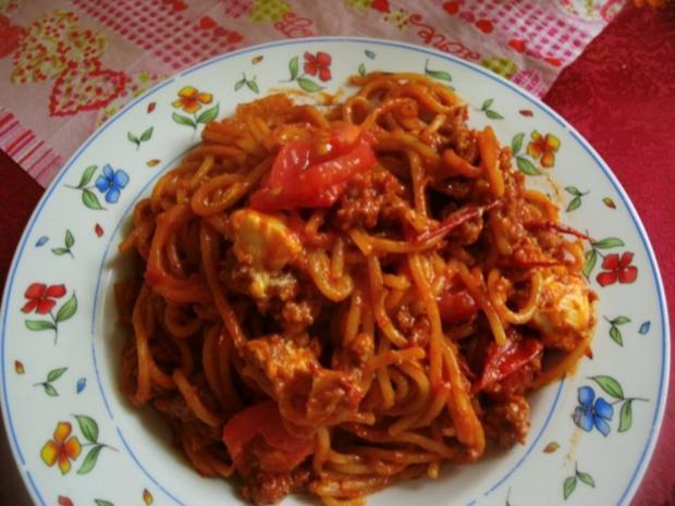 Spaghetti Bolognese-Pfanne - Rezept - Bild Nr. 9