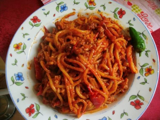 Spaghetti Bolognese-Pfanne - Rezept - Bild Nr. 10