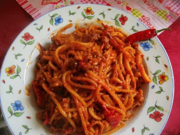 Spaghetti Bolognese-Pfanne - Rezept - Bild Nr. 2