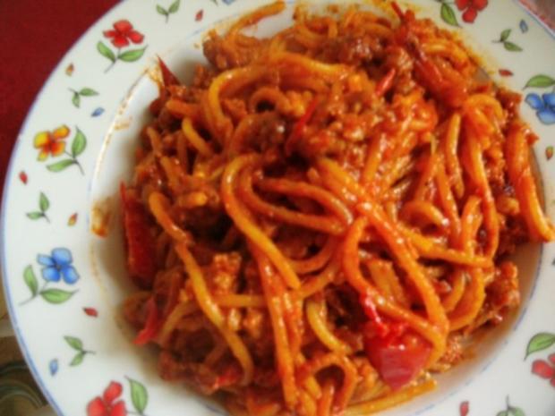 Spaghetti Bolognese-Pfanne - Rezept