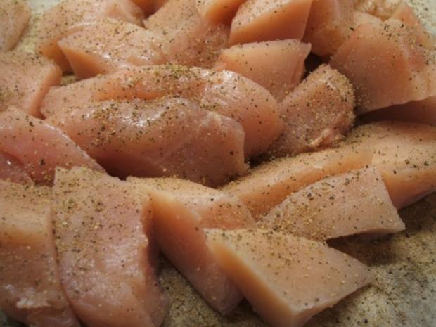 Geflügel: Pikantes Hähnchen-Geschnetzeltes - Rezept - Bild Nr. 3