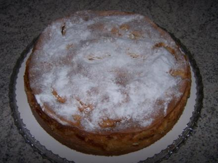 Apfelkuchen mit knuspriger Haube - Rezept