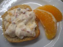 Frischkäse: Orange und Chilisoße - Rezept