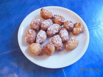 Kuchen: Mutzen oder Kräppelchen - Rezept