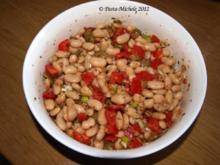 Weißer Bohnensalat aus der Türkei  (Beyaz Fasülye Salatası) - Rezept