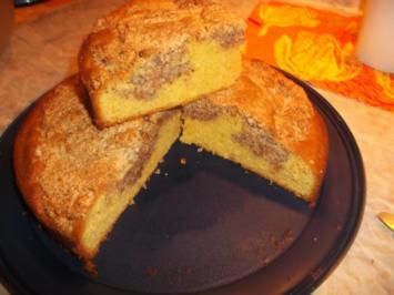 Nuss-Genuss-Kuchen - Rezept