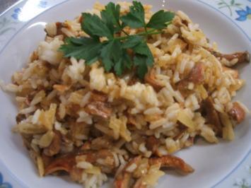 Reis: Pilzreis - Rezept