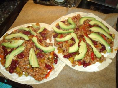 Mexikanische Hack-Quesadillas - Rezept