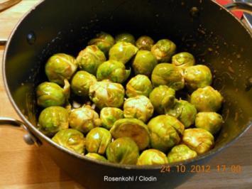 Rosenkohl aus dem Backofen - Rezept