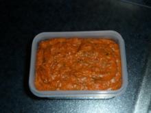 """Tomatenaufstrich (mit """"etwas"""" Knoblauch) - Rezept"""