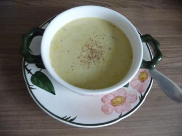 Rezept: Suppen & Eintöpfe : Gelbe – Zucchini – Suppe