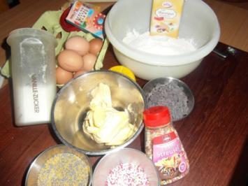 Weihnachtsplätzchen :Mürbteig - Grundrezept - Rezept