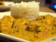 Kürbis-Hähnchen-Curry - Rezept