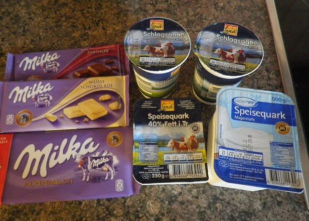 "Schokoladen - Käsesahne - Torte ""Tricolor"" ... - Rezept - Bild Nr. 8"