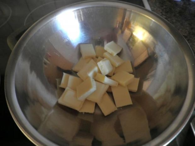 "Schokoladen - Käsesahne - Torte ""Tricolor"" ... - Rezept - Bild Nr. 9"