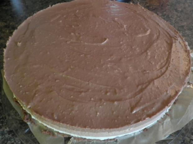 "Schokoladen - Käsesahne - Torte ""Tricolor"" ... - Rezept - Bild Nr. 18"