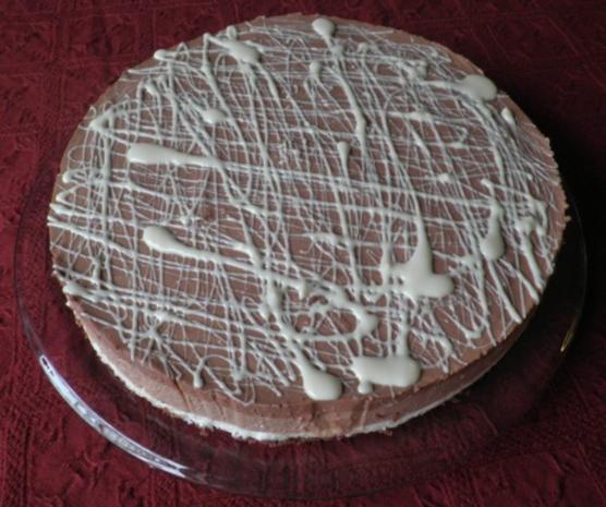 "Schokoladen - Käsesahne - Torte ""Tricolor"" ... - Rezept - Bild Nr. 19"