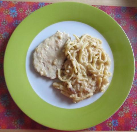 Zwiebel-Sahne-Schnitzel oder Schnitzeltopf - Rezept - Bild Nr. 4