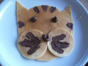 Katzen Pfannekuchen - Rezept