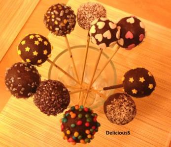 Lebkuchenlollies - Lebkuchen - Lebkuchenpralinen - Rezept
