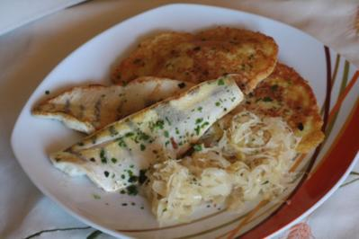 Zanderfilet mit Honig-Sauerkraut - Rezept