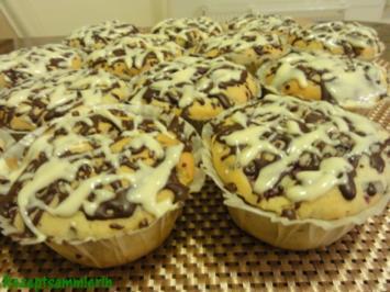 Muffin:   STRACCIATELLA mit Kirschen - Rezept