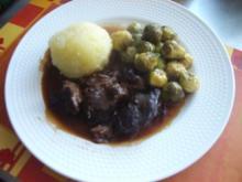 Schweinebäckchen  - ein sehr zartes Fleisch - Rezept