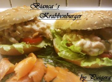 Bianca's Krabbenburger - Rezept