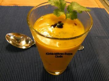 Kürbis-Möhren-Suppe - Rezept