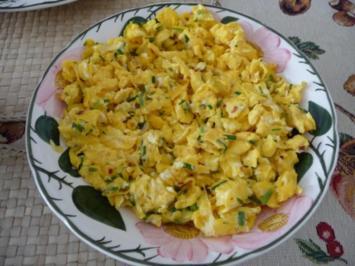 Rezept: Eierspeisen : Chili – Rührei