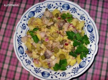 Kartoffelsalat mit Matjes - Rezept