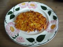 Unter 30 Minuten : Kartoffel – Möhren – Rösti - Rezept