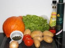 Kartoffel-Kürbis-Salat - Rezept