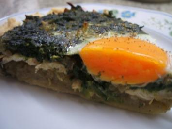 Quiche: Grüne Quiche - Rezept