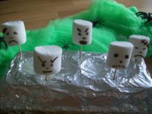 Marshmellow Geister - Rezept