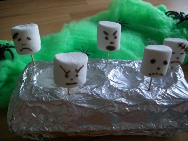 Marshmellow Geister - Rezept - Bild Nr. 3