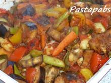 Rataouille aus dem Ofen mit Ebly - Rezept