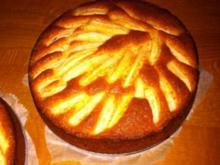 Kleine schnelle Mandel-Apfelkuchen - Rezept