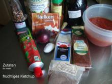 Tomatenketchup fruchtig - scharf - Rezept