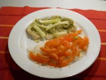 Hechtfilet mit Pesto - Rezept
