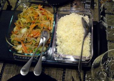 Poulet Curry mit Cocos - Rezept