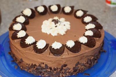 Schokoladentorte á la mama - Rezept