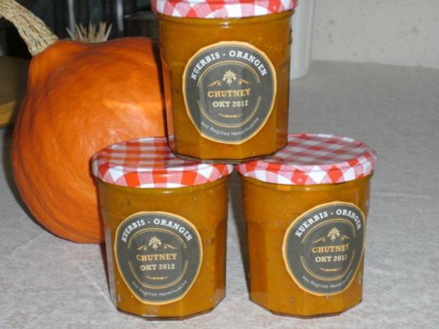 Kürbis-Orangen-Chutney - Rezept - Bild Nr. 11
