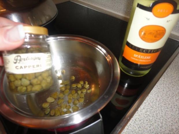 Zitronen Schnitzel an Kapern Sauce - Rezept - Bild Nr. 3