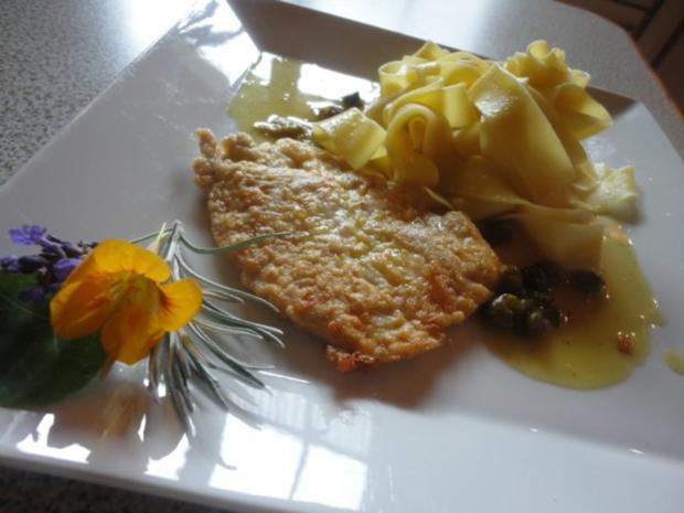Zitronen Schnitzel an Kapern Sauce - Rezept - Bild Nr. 9