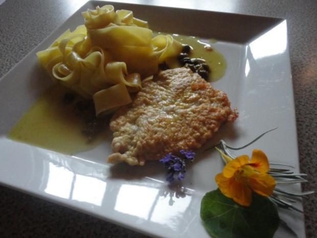 Zitronen Schnitzel an Kapern Sauce - Rezept - Bild Nr. 10