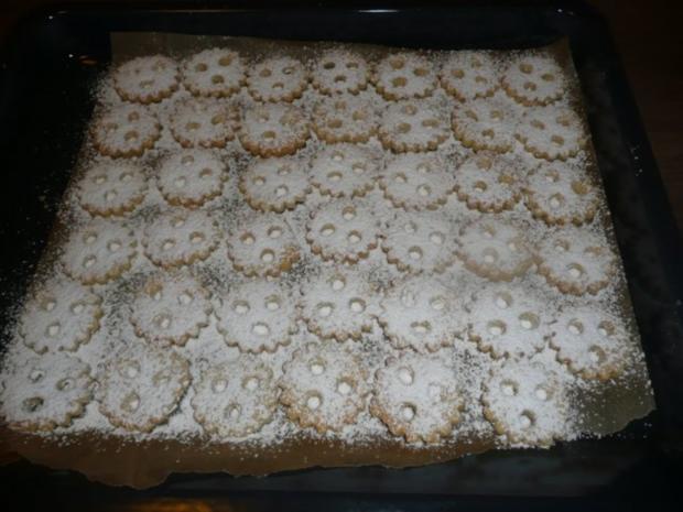 Ischler - Weihnachts- Plätzchen , gefüllt ! Ca 40 Stk - Rezept - Bild Nr. 5
