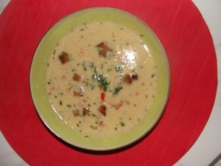 Suppen : Böhmische saure Eiersuppe - Rezept