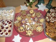 Weihnachtsplätzchen :Kunterbuntes  für Kinder - Rezept