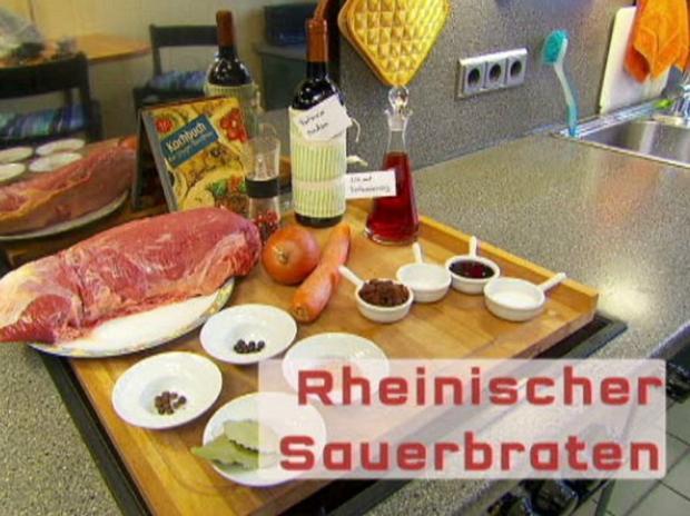 Rheinischer Sauerbraten - Rezept - Bild Nr. 2